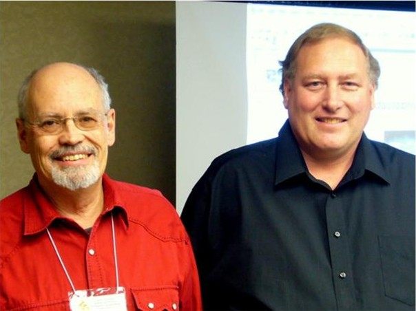 Dr. Jerry Bromenshenk and Dr. Dave Fischer